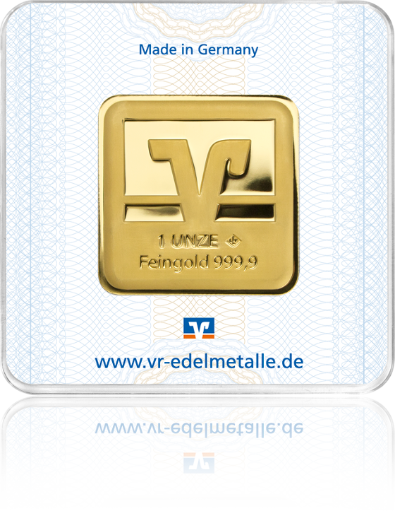 1 Unze VR Goldbarren